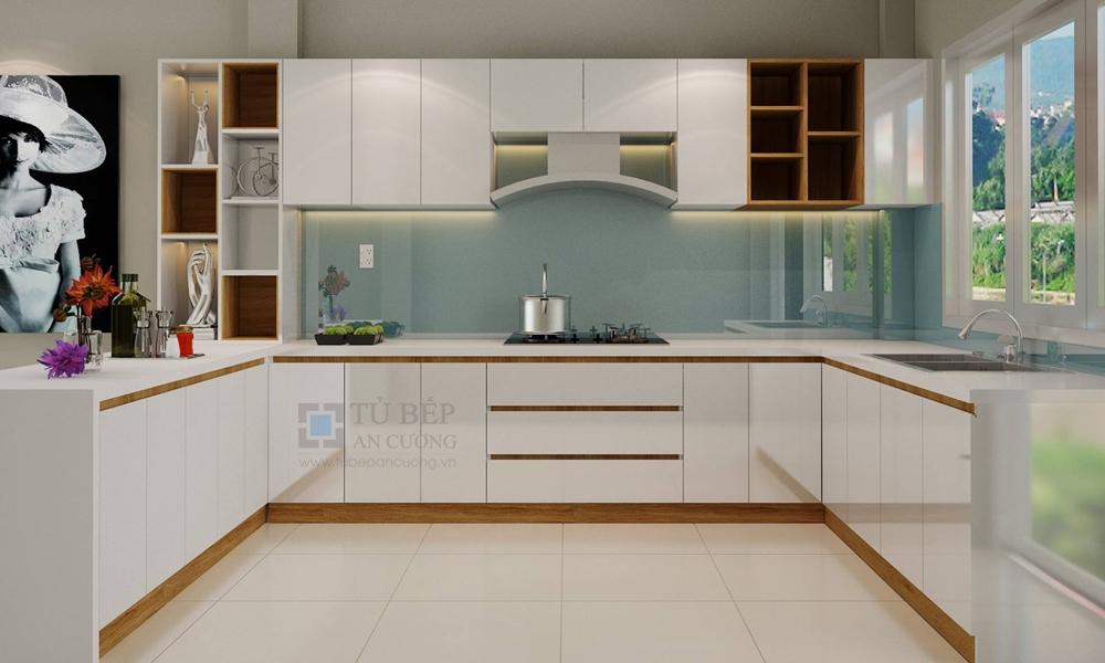 Thiết kế và thi công tủ bếp Nhà Phố Quận Thủ Đức