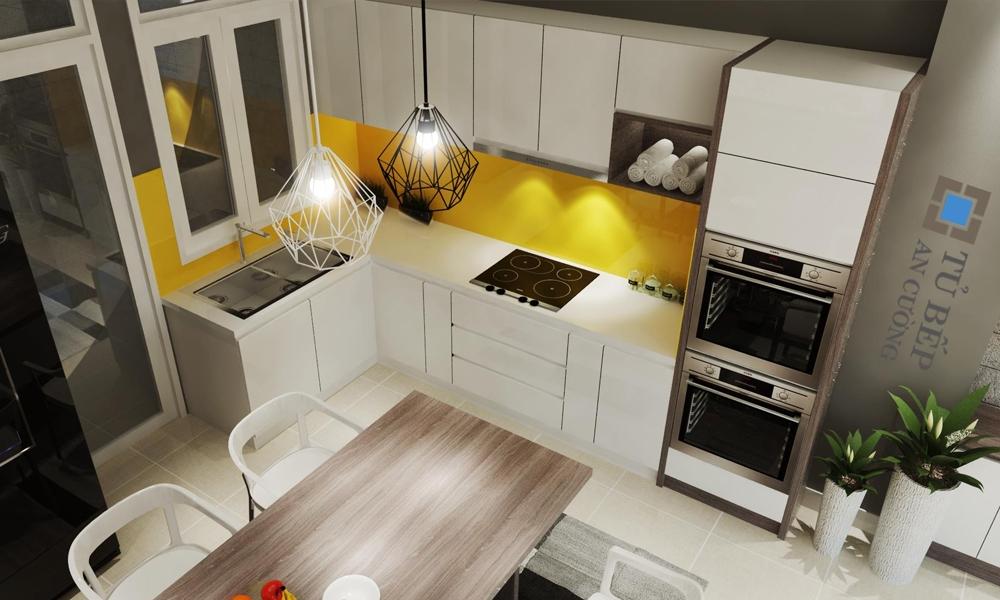 Thiết kế và thi công tủ bếp Nhà Phố Quận Bình Thạnh