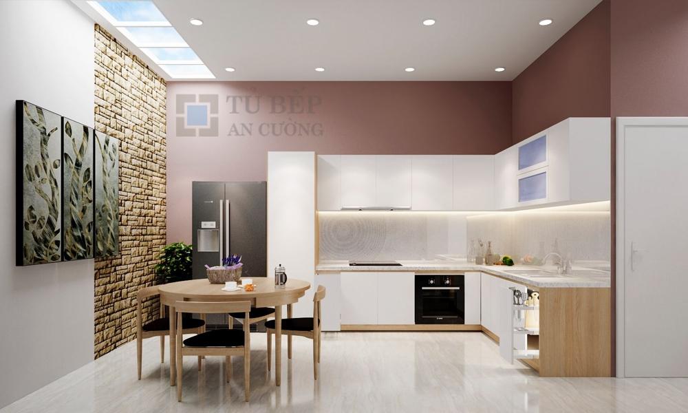 Thiết kế & thi công tủ bếp nhà phố Quận Gò Vấp