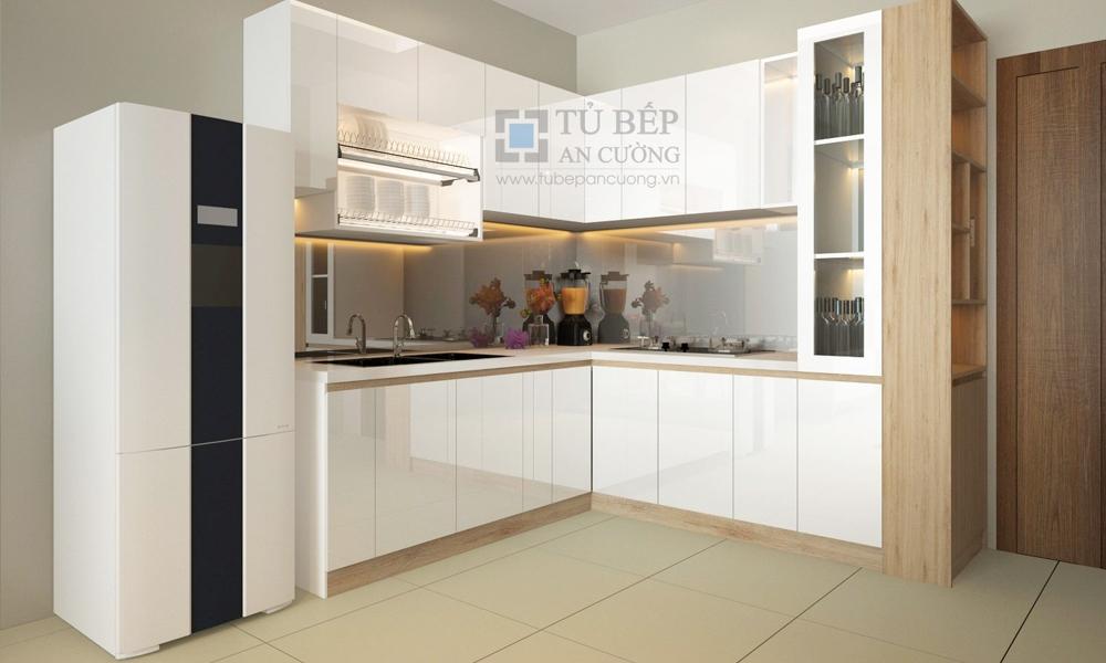 Thiết kế & thi công tủ bếp Căn Hộ Sunview Town Thủ Đức