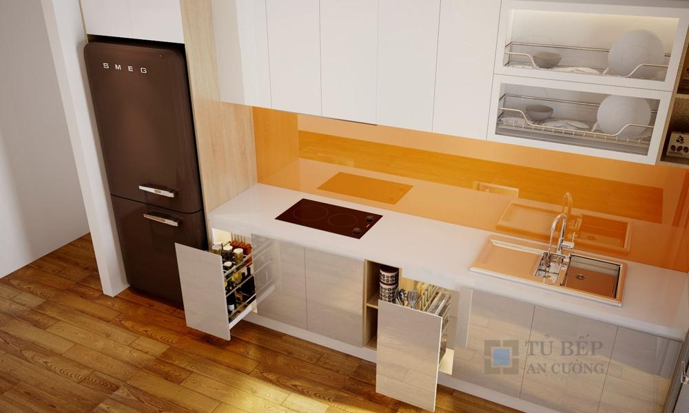 Thiết kế & thi công tủ bếp Căn Hộ Lexington Quận 2