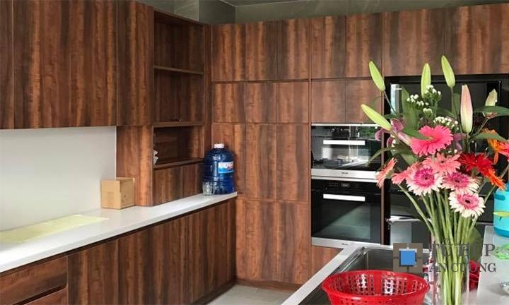 Thiết kế & thi công tủ bếp biệt thự cao cấp Sala Đại Quang Minh
