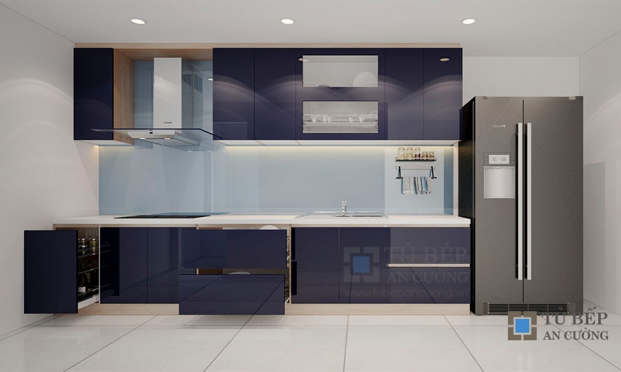 Thiết kế & thi công tủ bếp căn hộ Masteri T5.A31.11