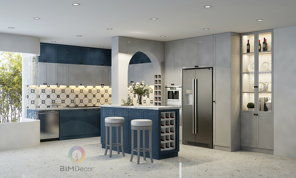 Thiết kế & thi công tủ bếp nhà phố Gò Vấp
