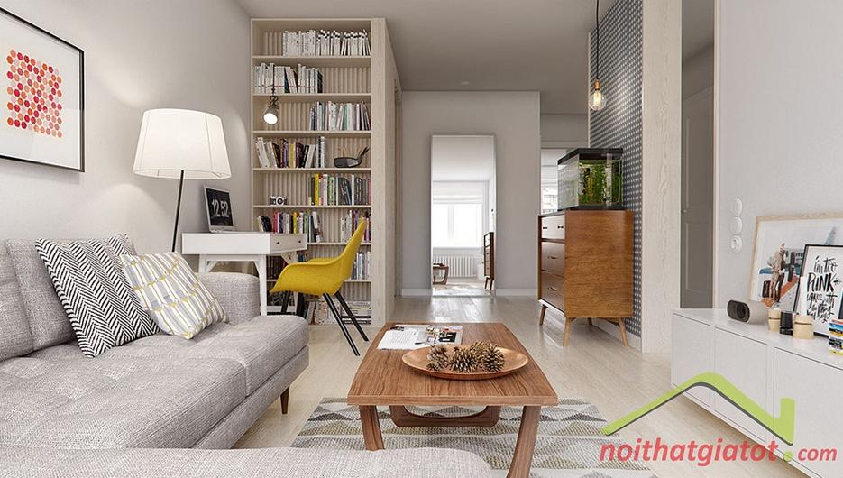 Thiết kế & thi công nội thất căn hộ 76m2 Galaxy 9