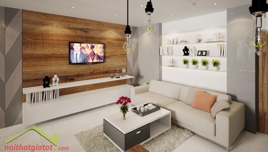 Thiết kế nội thất Căn Hộ Sunrise City North X2.1601 Quận 7