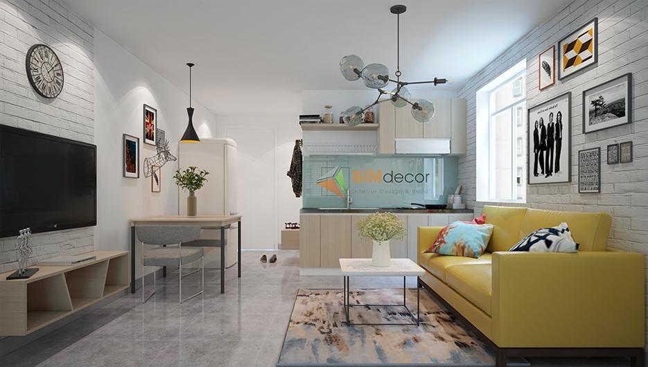 Thiết kế & thi công dự án căn hộ Hiệp Thành Bình Dương