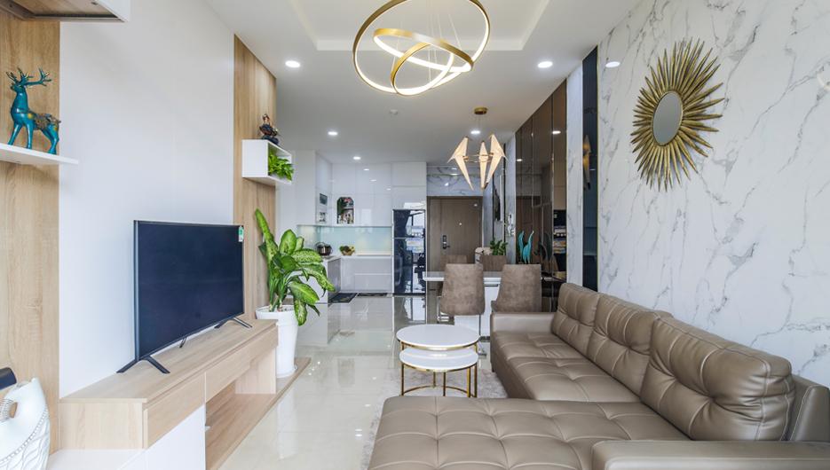 Hoàn thiện nội thất Căn hộ 2PN Opal Garden