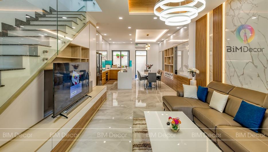 Hoàn thiện nội thất nhà phố Senturia Vườn Lài Quận 12