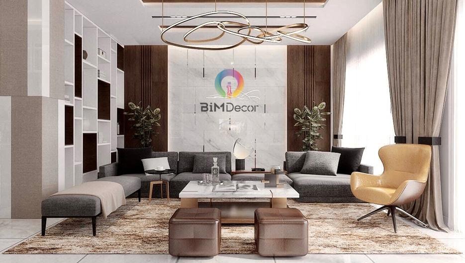 Thiết kế & thi công nội thất Biệt Thự 330m2 RioVista Quận 9