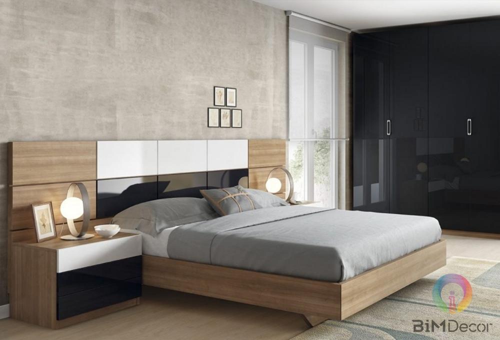 Giường ngủ gỗ công nghiệp hiện đại GN02