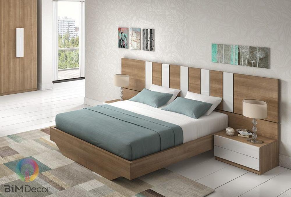 Giường ngủ gỗ công nghiệp hiện đại GN04