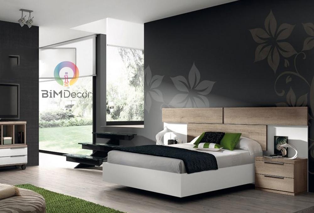 Giường ngủ gỗ công nghiệp hiện đại GN09