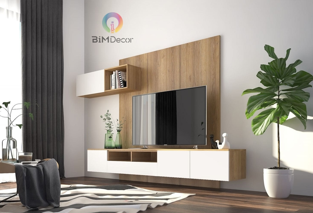 Kệ tivi hiện đại gỗ công nghiệp TV03