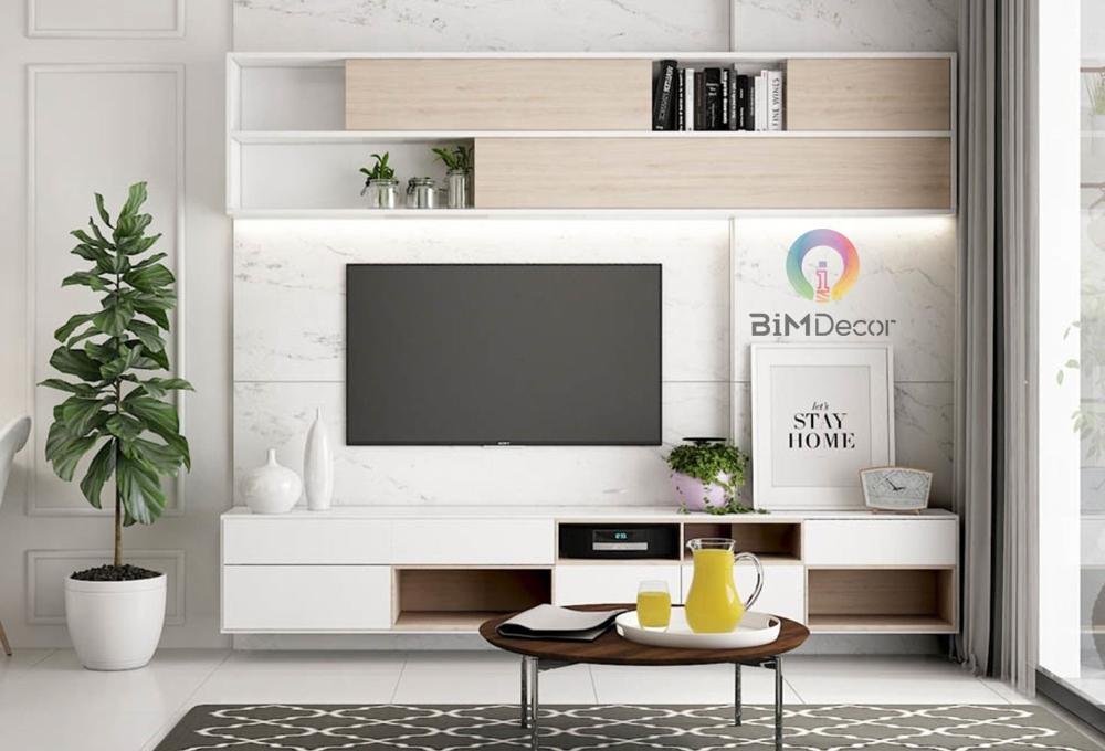 Kệ tivi hiện đại gỗ công nghiệp Melamine TV09