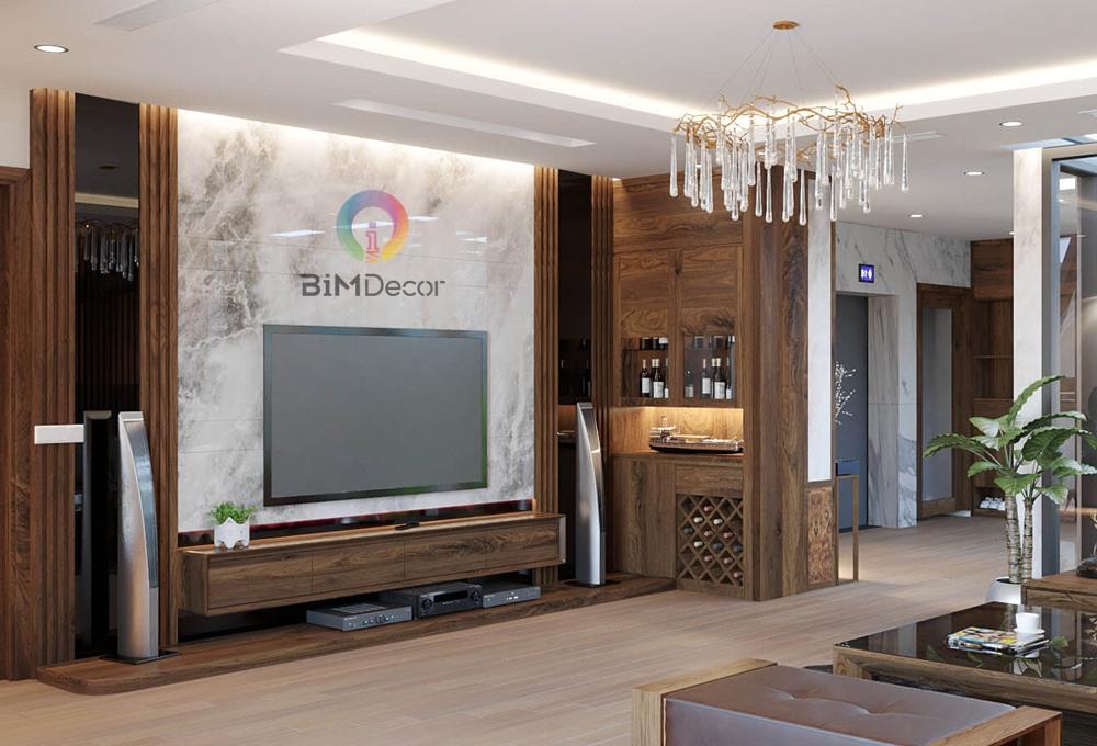 Kệ tivi hiện đại gỗ công nghiệp Laminate TV012