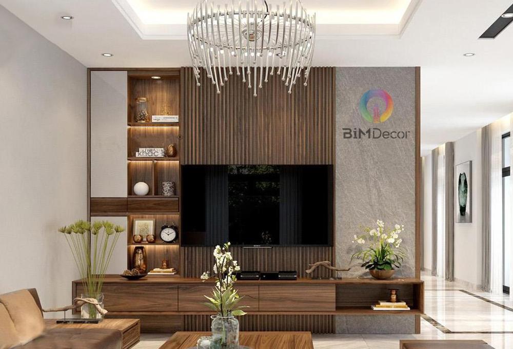 Kệ tivi hiện đại gỗ công nghiệp Laminate TV015