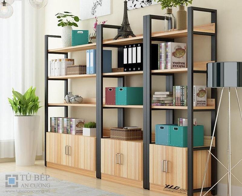 Tủ kệ sách đẹp gỗ công nghiệp KS05
