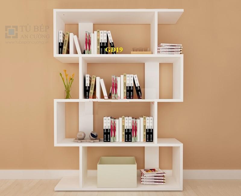 Tủ kệ sách đẹp gỗ công nghiệp KS011